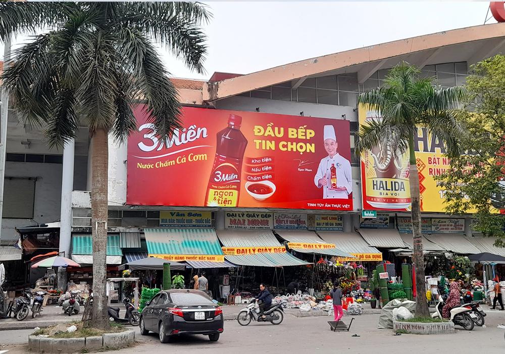 Chợ truyền thống là một nét văn hóa thân thuộc với đại đa số người dân Việt Nam