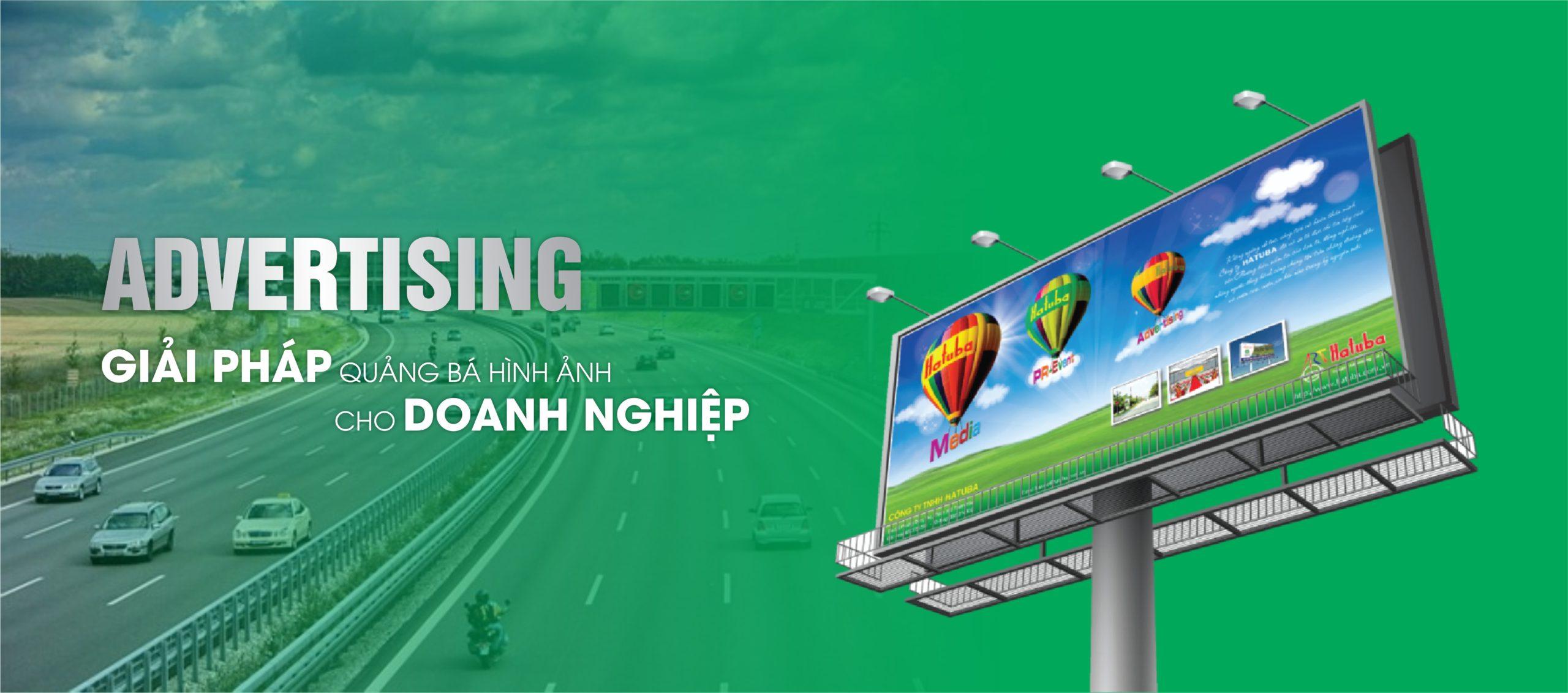 Dịch vụ quảng cáo billboard/pano ngoài trời tại Công ty TNHH Hatuba