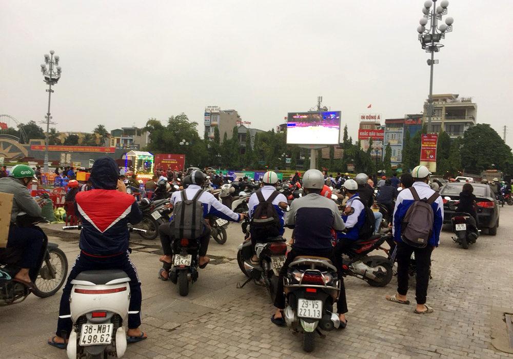 Quảng cáo màn hình led ngoài trời tại quảng trường Lam Sơn Thanh Hóa