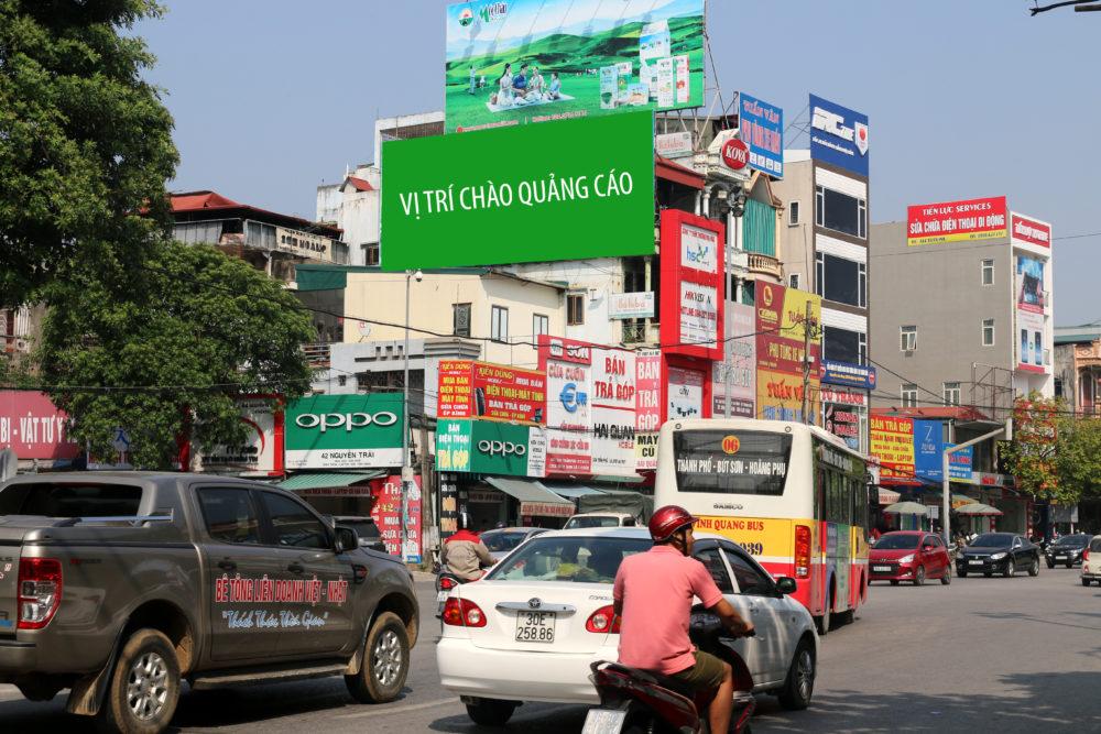 Pano quảng cáo trong thành phố thanh hóa tại 302 Trần Phú