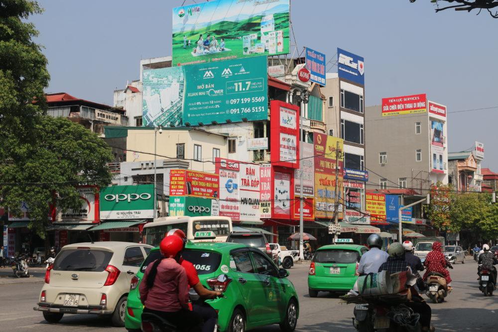 Quảng cáo Pano ngoài trời tại Thanh Hóa vị trí 302 Trần Phú