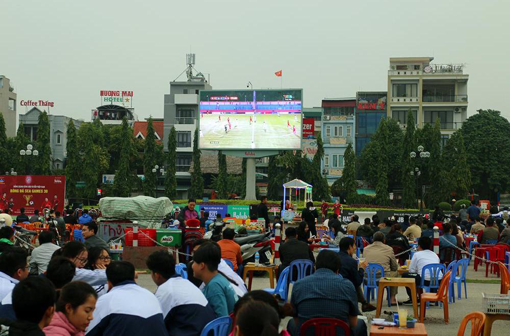 Màn hình led tại Quảng Trường Lam Sơn