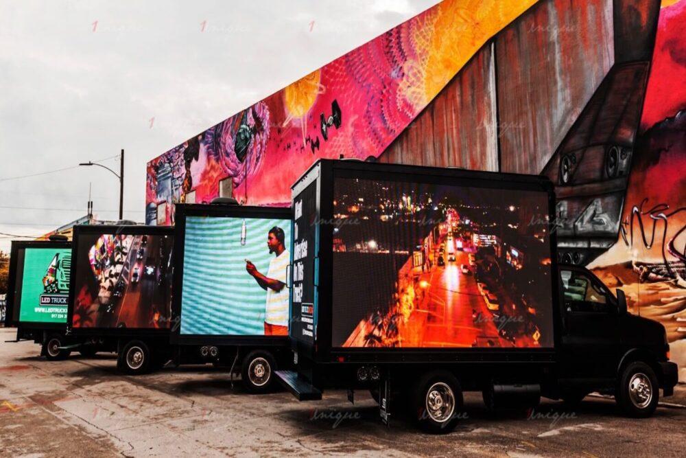 màn hình led di động cho sự kiện