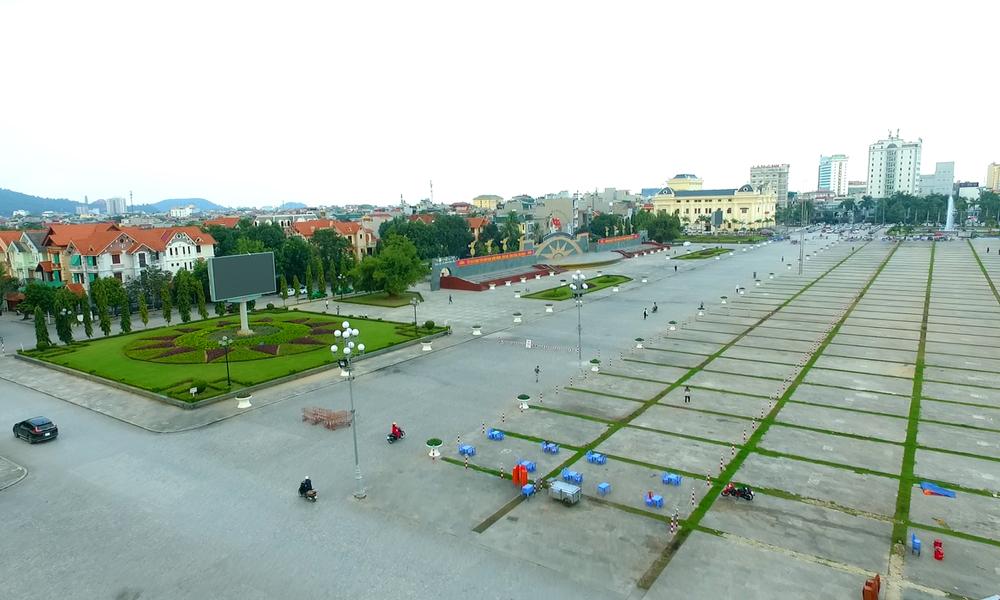 Màn hình led quảng trường Lam Sơn