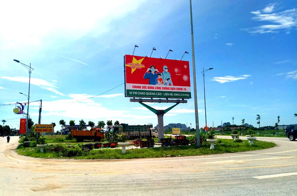 Công ty TNHH Hatuba triển khai tuyên truyền covid -19 tại huyện Đông Sơn Thanh Hóa