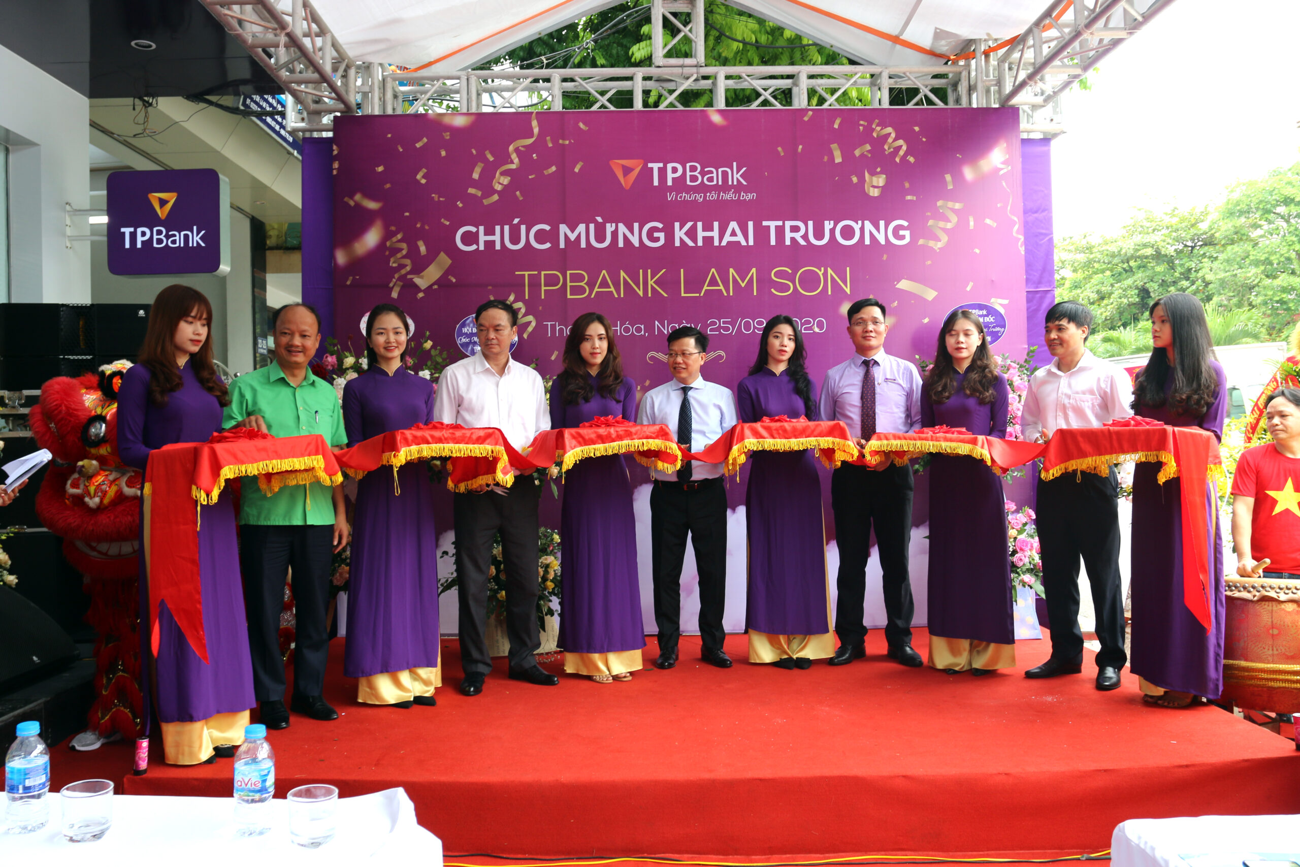 Lễ khai trương TPBANK LAM SƠN Thanh Hóa