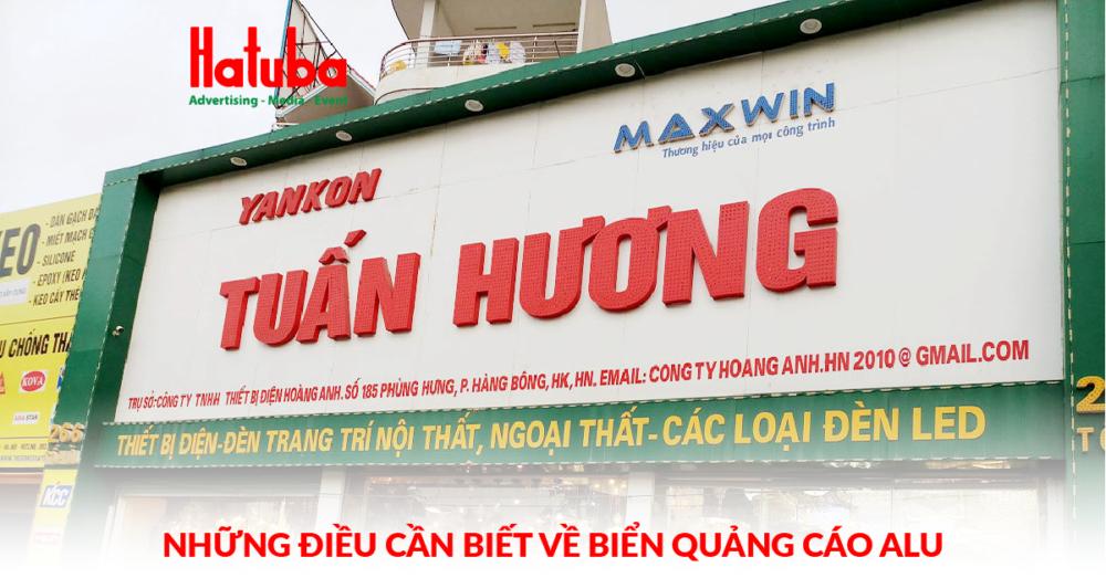 biển quảng cáo Alu