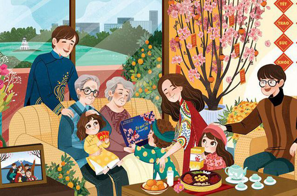 Lời chúc Tết Dương Lịch dành cho gia đình