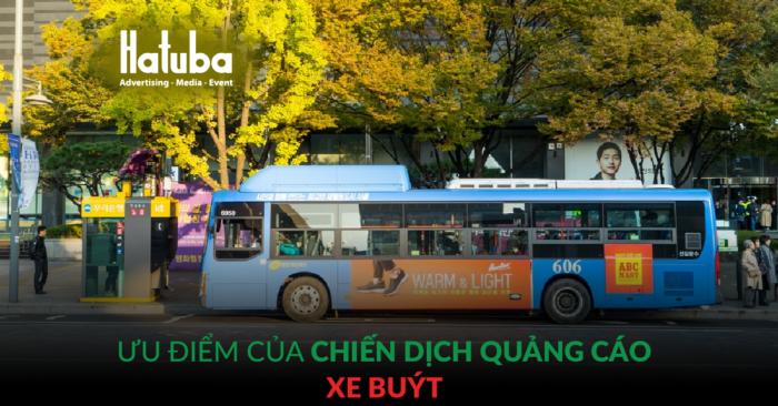 Ưu điểm của chiến dịch quảng cáo xe buýt