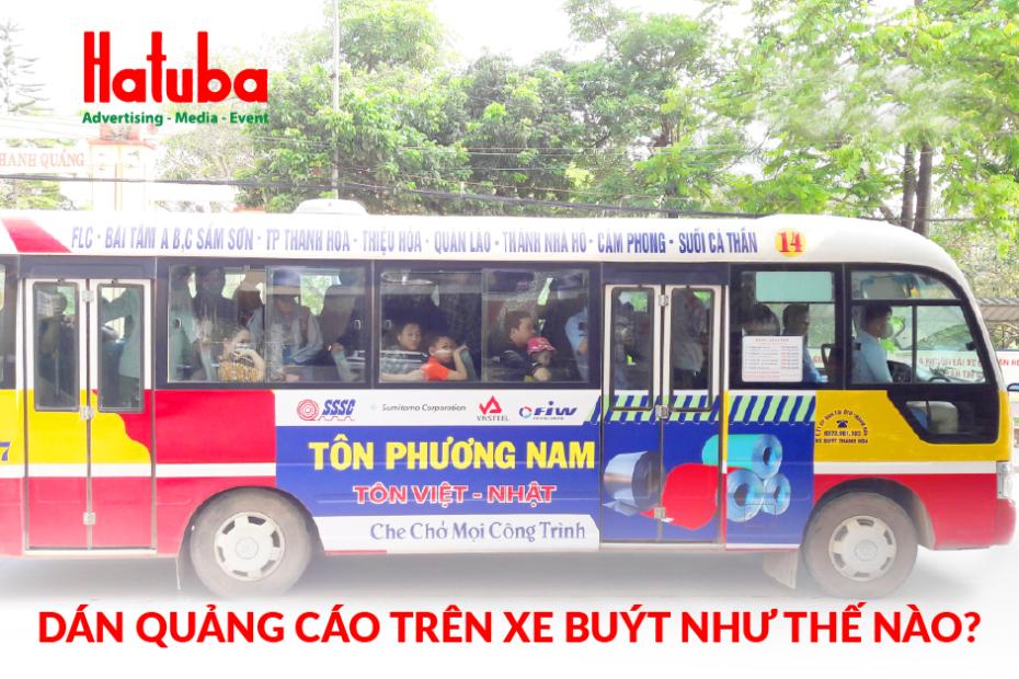 Dán quảng cáo xe buýt