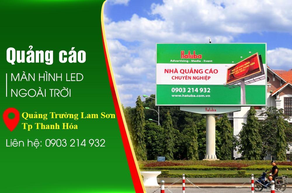 Pano led tại quảng trường Lam Sơn Thanh Hóa