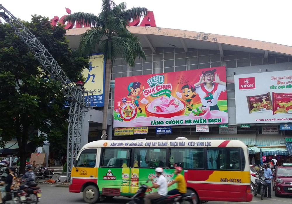 Xe buýt không chỉ là phương tiện giao thông mà còn là phương tiện quảng cáo