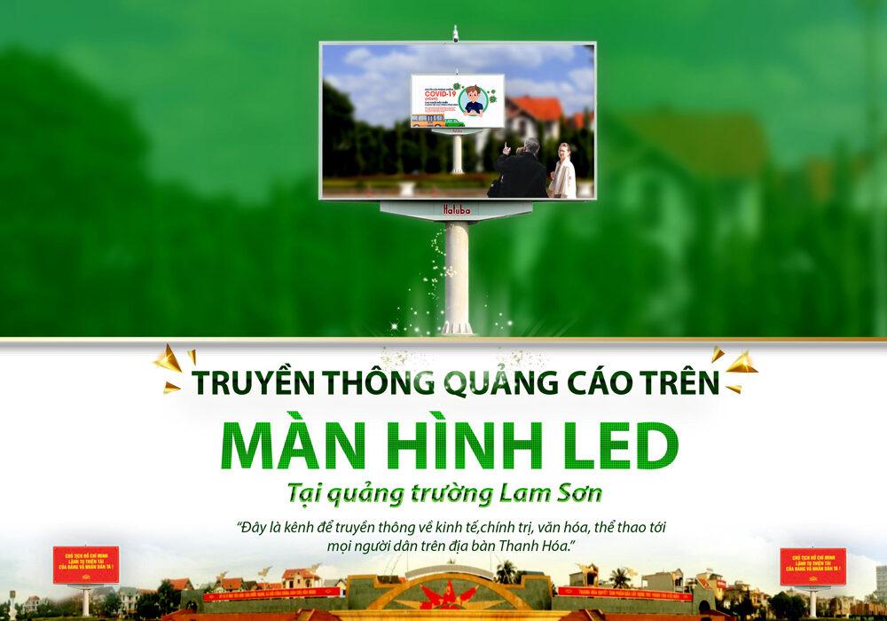 Quảng cáo màn hình Led ngoài trời tại Thanh Hóa với dịch vụ của Hatuba