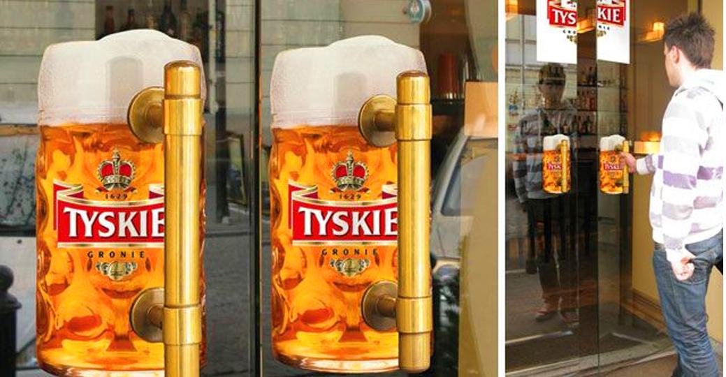 Chiến thuật marketing du kích của  TYSKIE