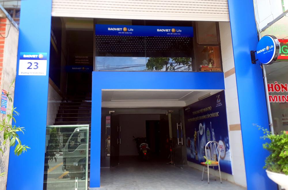 Công trình Bảo Việt nhân thọ do Công ty quảng cáo Hatuba thực hiện