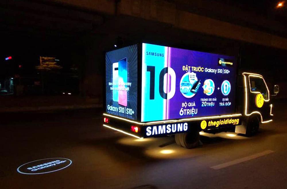 Chiến dịch quảng cáo màn hình Led cực ấn tượng của Thế giới di động.